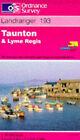 Landranger Maps: Sheet 193: Taunton and Lyme Regis by Ordnance Survey (Sheet map, folded, 1990)