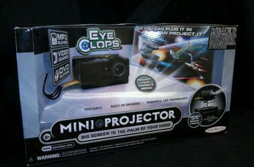 "Jakks Pacific EyeClops LED Projector Mini Portable 60/"" New"