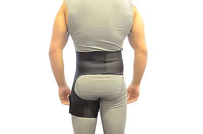Hip Support Groin Black Stabilizer Brace Fracture Pain Arthritis
