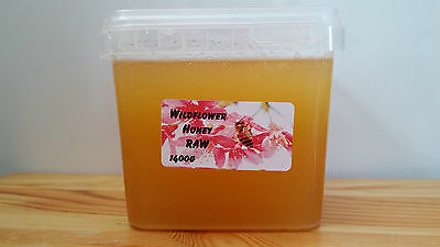 Raw Wildflower Honey 1400g EXTREMELY HEALTHY AND TASTY - ORGANIC