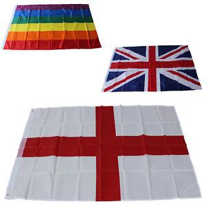 Large-3x5ft-World-Flag-Country-England-GB-Rainbow-Football-St-George-EU-National