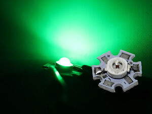 HighPower-Led-1-Watt-auf-Star-Platine-350mA-1-W-Hochleistungs-Chip-High-Power