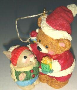 Hallmark Keepsake 1999 Mary's Bears  Mouse Christmas By Mary Hamilton QX5569