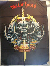 MOTORHEAD  rare  TEXTILE POSTER FLAG  metal heavy metallica ozzy dio lp t shirt