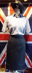 NEW-Women-039-s-ladies-RAF-Royal-Air-Force-no2-Dress-Uniform-Skirt-WRAF-XL-SIZES
