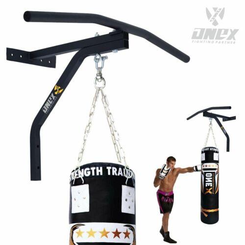 Pugilato Punch Bag Angolo Montaggio a Soffitto Gancio Heavy Duty staffa a parete CATENE Di Acciaio