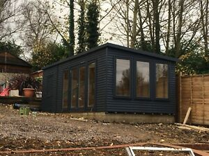 home office in the garden. Image Is Loading 20ft-X-10ft-Garden-Room-Home-Office-Annex- Home Office In The Garden