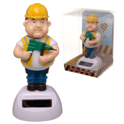 Great Gift For Husband Father Colleague Solar Pal Dancing Toy BUILDER