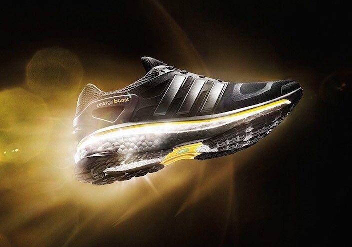 140 Mens adidas Energy Boost M OG 9 Retro 5th Anniversary Edition black ultra