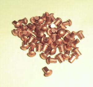 50 Stück Stahlnieten Halbrundkopf DIN 660 5x10mm