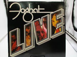 Foghat ~ Live ~ Bearsville BRK 6971~ Vinyl LP ~ Die Cut Cover ~ 1977 VG+ c VG+