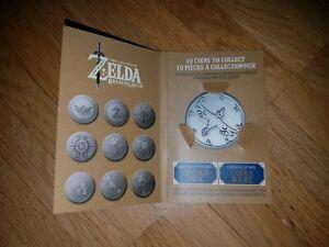 The-Legend-of-Zelda-Breath-of-the-wild-Coins-Sammelmuenze-NEU-Nintendo