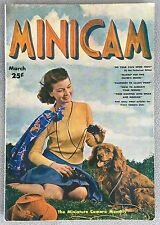 Minicam Photography March 1938 Magazine - Great Stories and Advertising