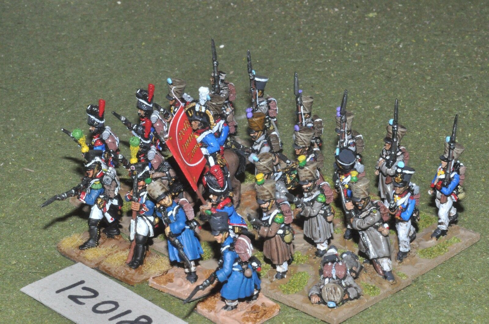 25mm napoleonic   french - infantry 27 figs - - - inf (12018) d8da1c