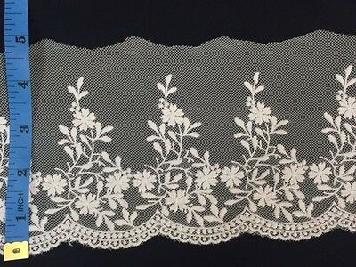 "Skirts 2 YD Soft etc. Elongating Tops Costumes 6/"" Fringe Venise Lace Trim"