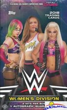 2018 Topps WWE Women?s Division HUGE Factory Sealed HOBBY Box-2 HITS-AUTOGRAPH