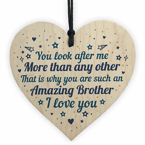 Image Is Loading Brother Birthday Gift Heart Christmas Card Gifts