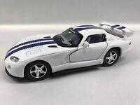 Dodge Viper Gts-r 1:36 Scale Kt.5039 White