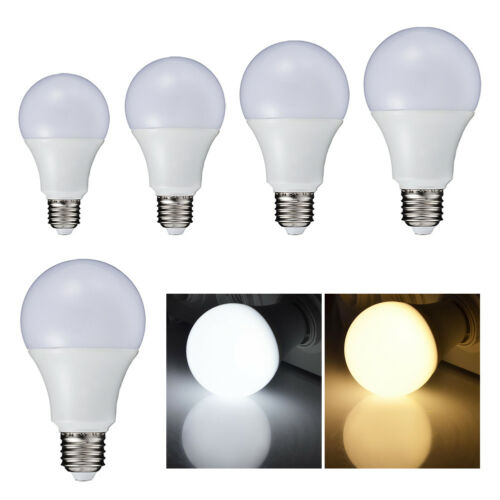 220v e27 highly bright 5730 smd led bulb lights globe lamp warm//cool white color