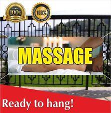 Massage Banner Vinyl Mesh Banner Sign Flag Nail Spa Salon Beauty Spa Foot