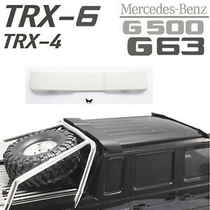 Rear-Spoilers-Wing-Tail-Para-1-10-1-8-Traxxas-TRX4-TRX6-Benz-G63-G500-RC-Crawler