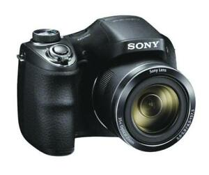 Sony-Cyber-shot-20-1MP-High-Zoom-Camera-Black-DSCH300B
