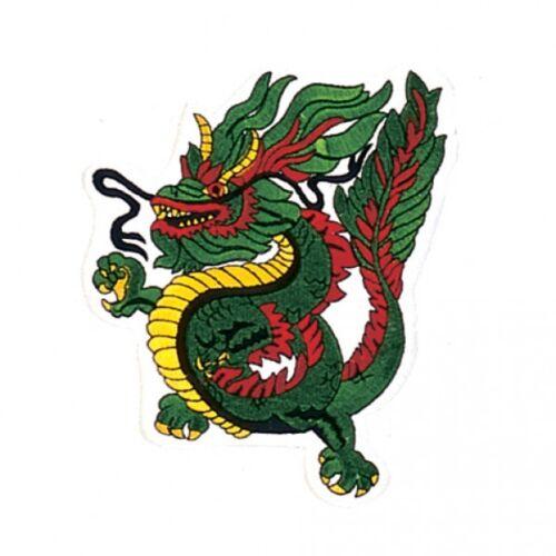 "6/"" Dragon Martial Arts Patch"