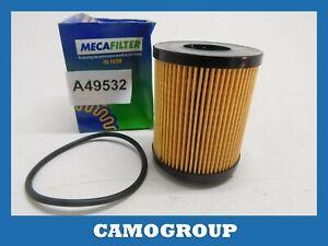 Oil Filter Mecafilter For Alfa Romeo Mito Fiat 500 Bravo ELH4339