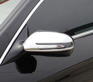 MERCEDES BENZ CLS CLASS 4 DOOR SALOON W219 NEW CHROME MIRROR TRIMS 2009-2011