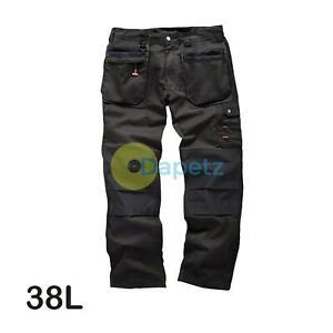 Scruffs-Travailleur-Grande-Pantalon-Travail-Graphite-Gris-Marine-38L-Commerce