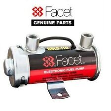 GENUINE FACET SILVER TOP FUEL PUMP FOR UP TO 200BHP CARBS
