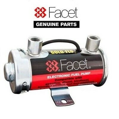 Facet 476087 Silver Top Cylindrical Fuel Pump STS504 Cross Ref PRC3901