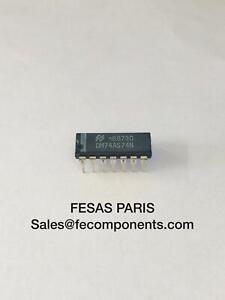 DM74AS74N Circuits Intégrés (IC), Bistables Dl D-Type Flip-Flop DIP14 7Pcs/Lot