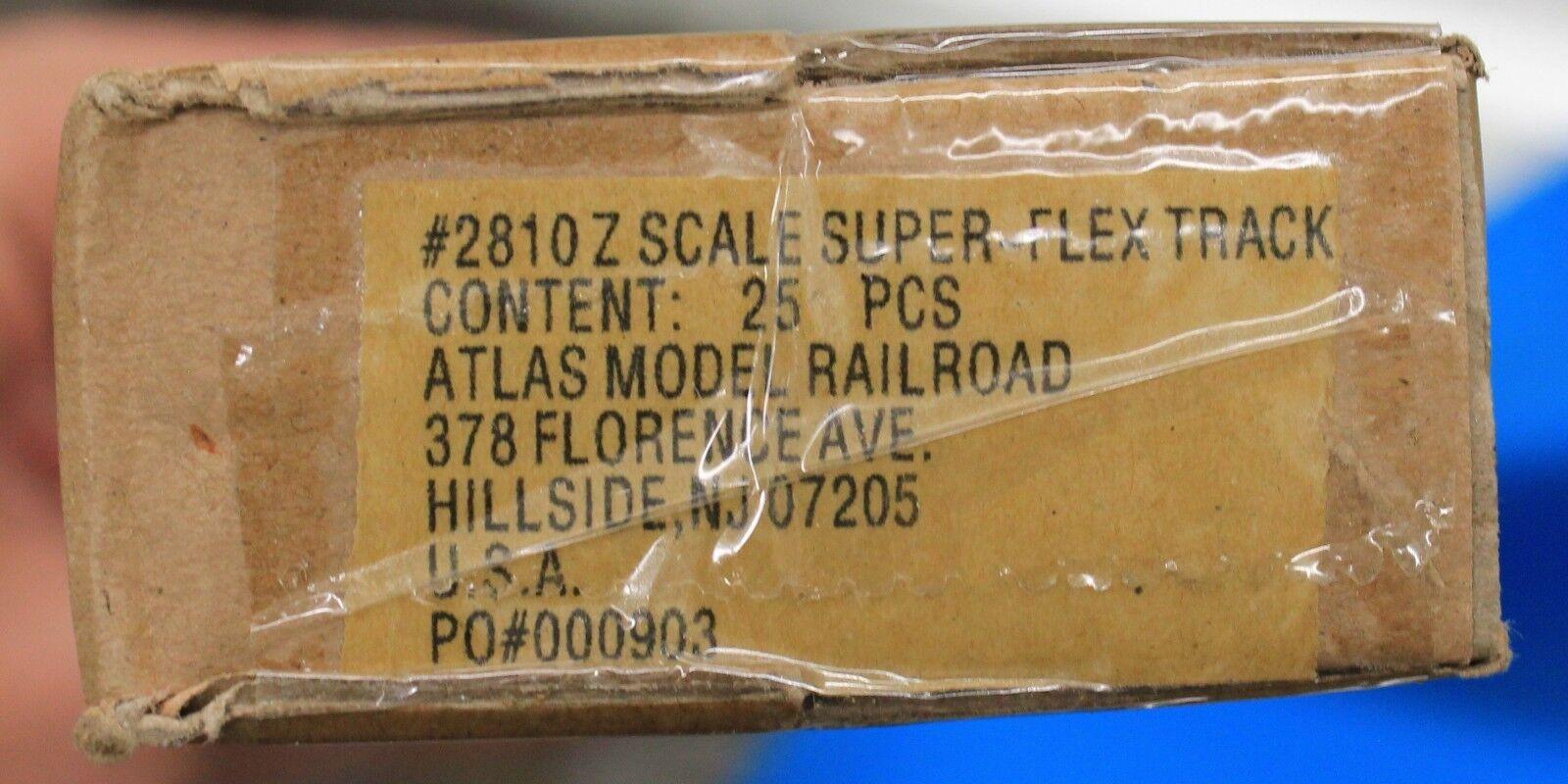 Escala Z-Atlas 2810A Caja Completa De 24 pista Flex Sellado de fábrica 25 secciones Nuevo