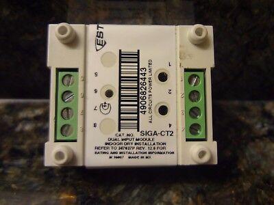 5 New EST Edwards SIGA CT2 Dual Input Module Fire Alarm