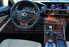 LEXUS ES350 ES300h ES 350 300h INTERIOR WOOD DASH TRIM KIT SET 2016 2017 2018