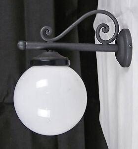 Illuminazione Per Esterni A Parete.Dettagli Su Applique Lampada Da Parete Illuminazione Per Esterno Led Fatto A Mano Art E2