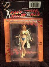 Fast Women 1/18 Diorama Figurine. #402 Mitzi in Leopard Coat