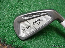 Nice Callaway Razr X Forged Cavity 4 Iron Kbs C-Taper Tour 130 Steel X Flex