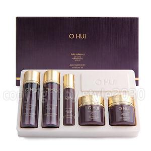 OHUI-Age-Recovery-5-items-Travel-Kit-Anti-Wrinkle-Anti-Aging-Newest-O-HUI