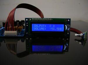 PGA2311-Remote-Audio-Preamp-kit-DIY-Ver020309