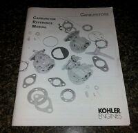 John Deere Wheel Horse Ford Kohler Carburetor Reference Manual Same Day Shipping
