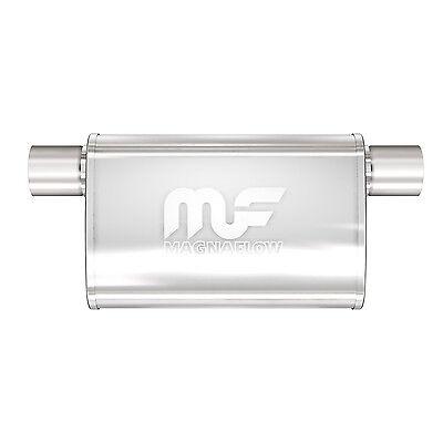 "Magnaflow 14375 Performance Muffler 2.25/"" Offset//Offset Same Side 4x9x11 Oval"