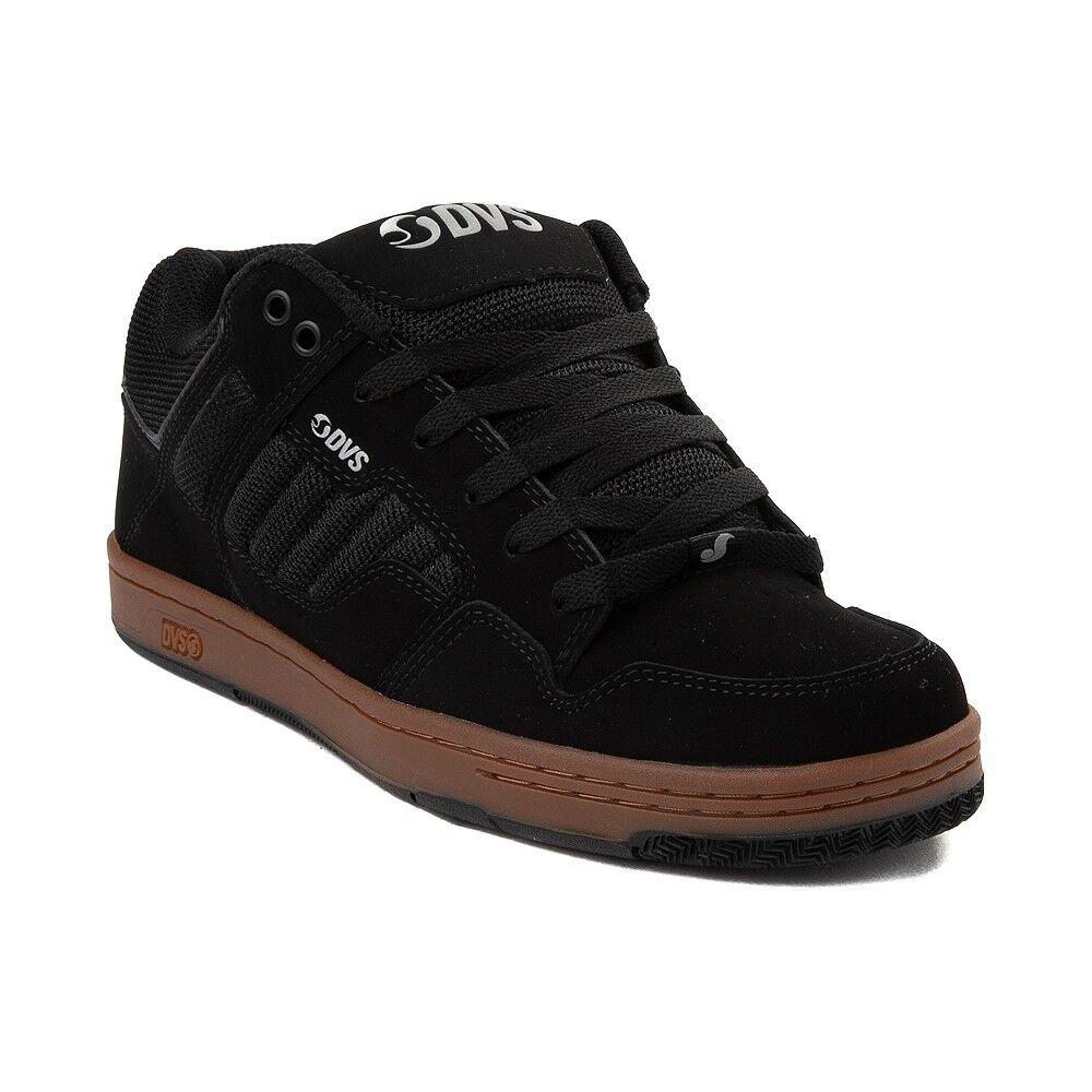 MENS DVS ENDURO 125 SKATEBOARDING scarpe NIB nero nero nero GUM FLASH PACK 4b7c3a