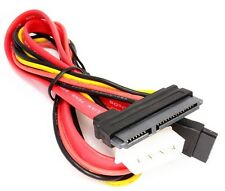 Combo  SATA II 15 Pin Power and 7 Pin Data Cable 4 Pin Molex to Serial ATA Lead