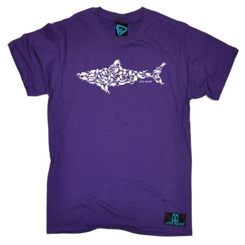 Shark subacquei T-shirt ATTREZZATURA SUBACQUEA DIVE Gear Maglietta Divertente Regalo Di Compleanno
