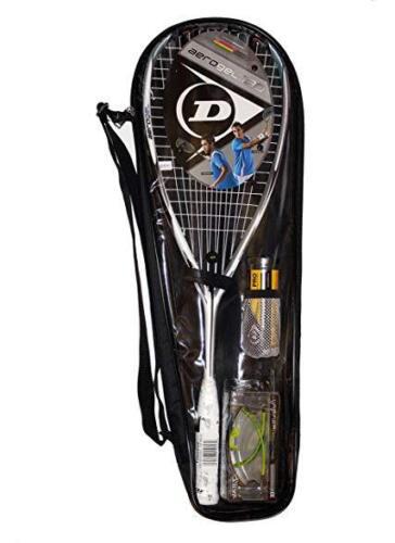 Dunlop graphite squash Pack