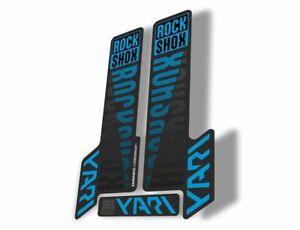 Rock Shox YARI 2018 Fork Decal Mountain Bike Cycling Sticker Adhesive Oil Slick