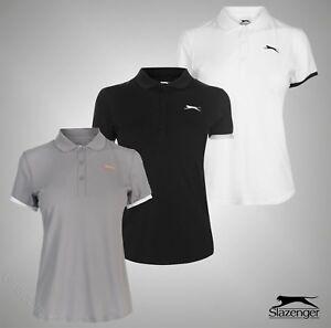 Ladies-Slazenger-Logo-Lightweight-Tennis-Court-Polo-Shirt-Top-Sizes-8-18