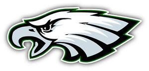 Details About Philadelphia Eagles Nfl Football Head Logo Car Bumper Sticker Decal 6 X 3